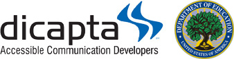 Dicapta Accesible Communication Developers & Department of Education, United States of America.