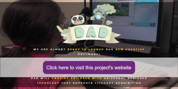 Picture of DAD website.